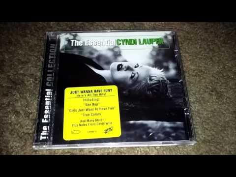 Unboxing Cyndi Lauper- The Essential Cyndi Lauper