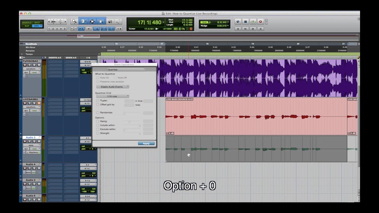 How To Use Elastic Audio In Pro Tools - Audio Vision Studios