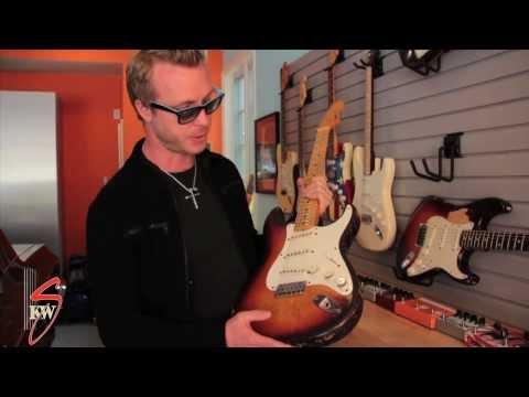 Kenny Wayne Shepherd Shows His 1959 Fender Stratocaster Thumbnail image