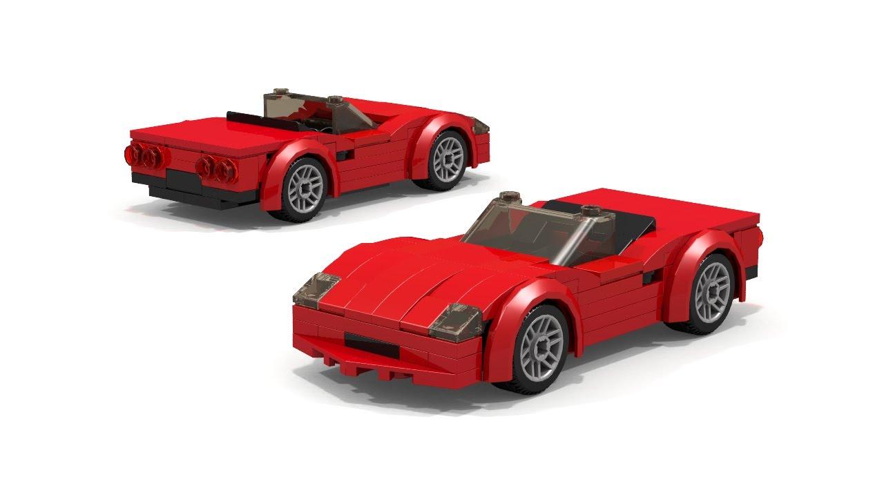 Lego Sports Car Convertible