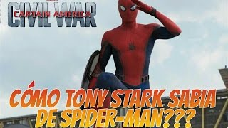 CIVIL WAR: ¿Cómo Tony Stark sabía de Spider-Man? | Zona Freak