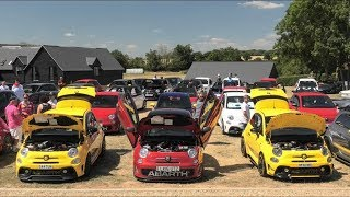 Abarth Owners Club - Sharnbrook 2018