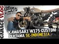 Kawasaki W175 Custom Cafe Racer [Garage Vlog]