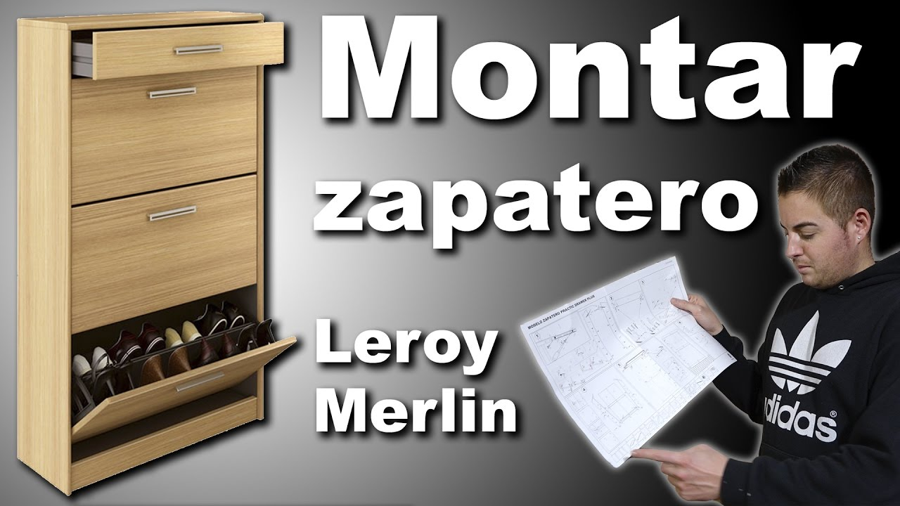 Montar mueble zapatero practic leroy merlin youtube for Mueble zapatero leroy merlin