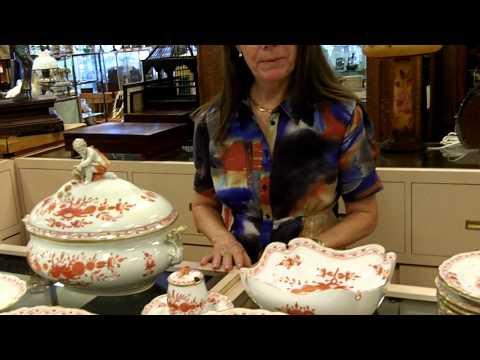 Antique China Meissen Set