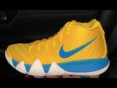 the latest 7917d 3e612 Kyrie 4 kix cereal shoes