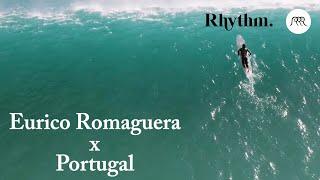Surfing On Beautiful Empty Waves, Somewhere In Portugal   Rhythm