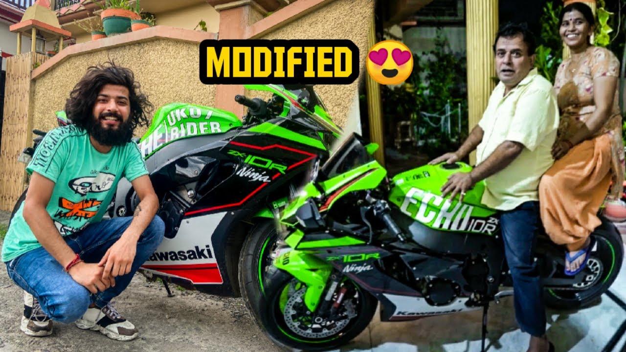 New Superbike Ko Modify kara Hi Diya 😲