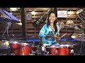 [LIVE] Despacito In Multi Drum Beat How To Do That? - Nur Amira Syahira
