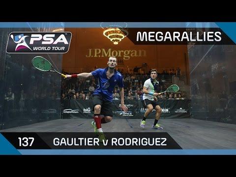 Squash: MegaRallies Ep.137: Gaultier v Rodriguez - Tournament of Champions 2015