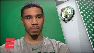Jayson Tatum says Kyrie Irving's critical comments come 'from a good place' | NBA Interview