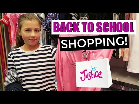 BACK TO SCHOOL TEEN AND TWEEN CLOTHES SHOPPING TRIP VLOG!