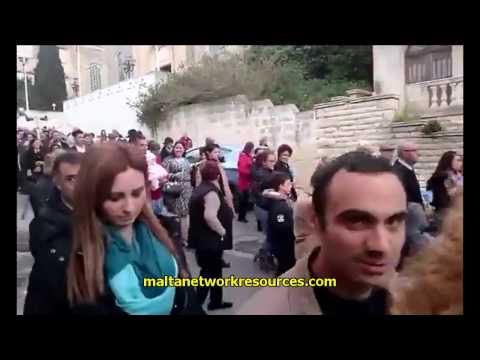 Duluri 2017 Procession for Our Lady of Sorrows in Ta' Xbiex Malta