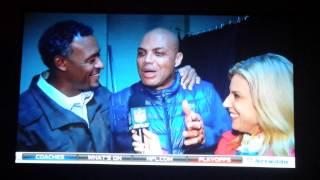 Charles Barkley drunk on NFL Network