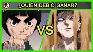 Naruto: Rock Lee Vs Gaara - QUIÉN DEBIÓ GANAR