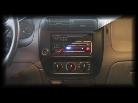 Replacing a Car Stereo: Ford Ranger