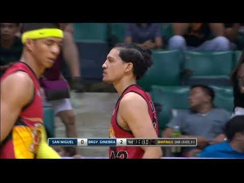 PBA Philippine Cup 2018 Semifinals Game 5: San Miguel Beer vs. Ginebra Mar. 17, 2018