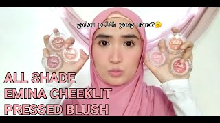 Emina Cheeklit Pressed Blush On - Violet Berry Original