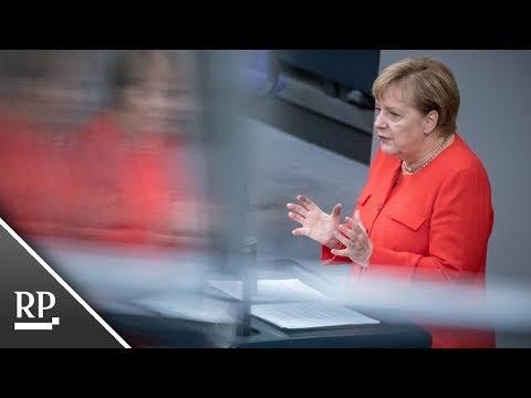 Angela Merkel im Bundestag: Das sagt die Kanzlerin über Chemnitz und Köthen