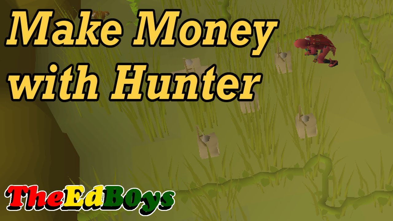 making money off hunter osrs