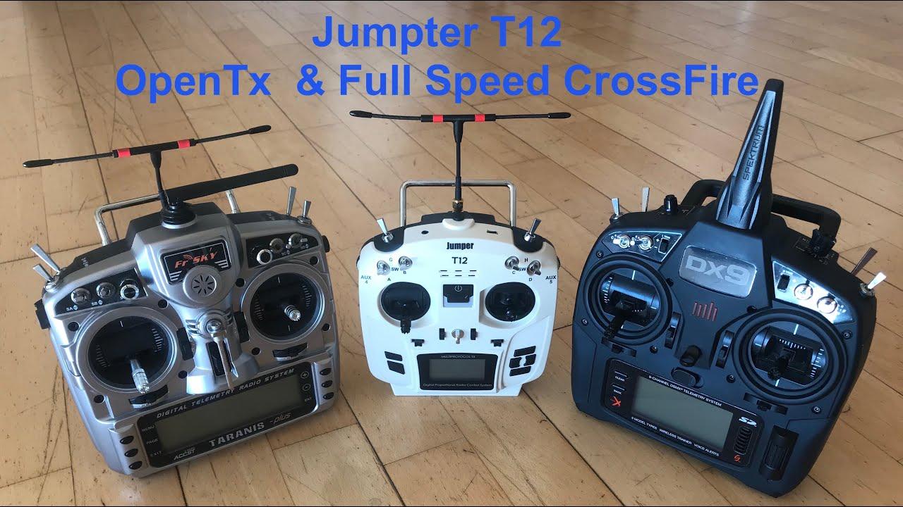 Unboxing // Jumper T12 // OpenTx // Full Speed CrossFire // Transmitter