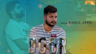 Door (Cover Song) | Rahul Appie | Latest Punjabi Song 2017 | New Punjabi Songs 2017