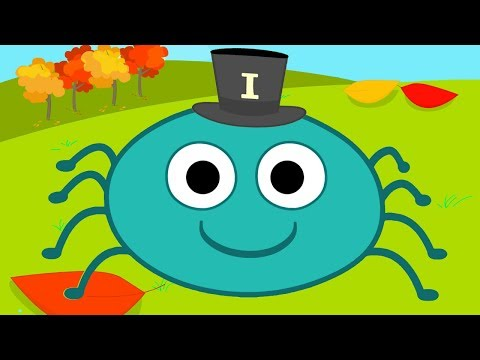 ITSY BITSY SPIDER (Incy Wincy Spider) | Nursery Rhymes & Kids Songs