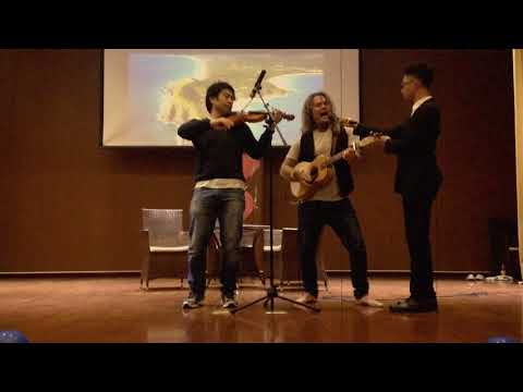 A Horse Called Freedom Lecture theatre live performance, ChongQing, China 2016