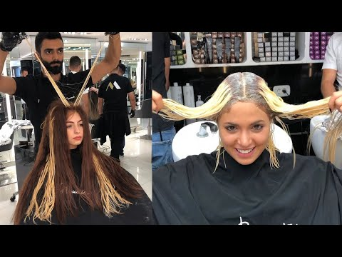 New Hairstyles Tutorials By Mounir Salon |  Stunning Hair Makeover Transformations