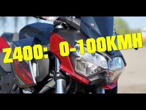 Ninja 400 0 60 100 Kmph