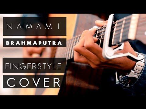 NAMAMI BRAHMAPUTRA FINGERSTYLE COVER | ADDIE COVERS (ANUP) | CREATILIA