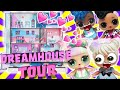 LOL Surprise Doll Dream House Tour and Pool Party! Featuring LOL Surprise Fashion Crush Unboxing!