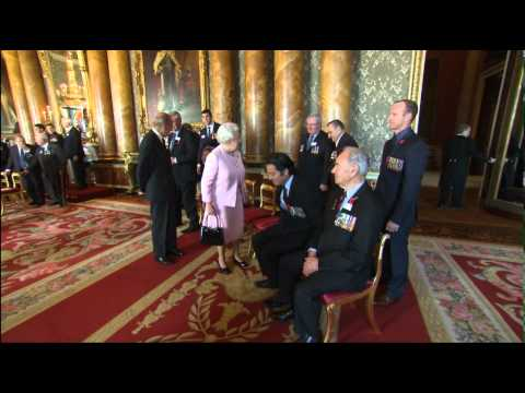 Victoria Cross and George Cross Association reception