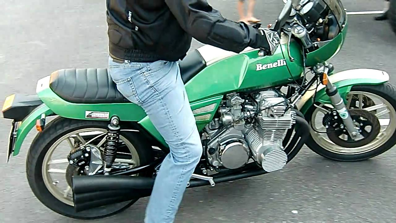 Benelli 900 sei with 6 in 6 exhaust fat sound youtube altavistaventures Images