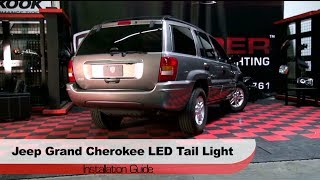 Spyder Auto Installation: 1999-2004 Jeep Grand Cherokee LED Tail Lights