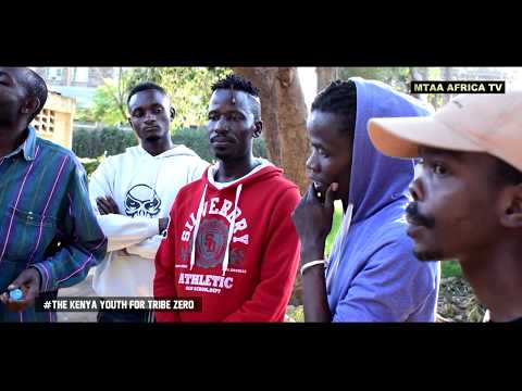 TAKID MASTER HOST JULIANI IN THE KENYA YOUTH FOR TRIBE ZERO INITIATIVE