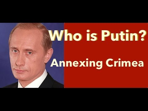 "Who is Putin? To Putin: ""Would you consider annexing Crimea?"""