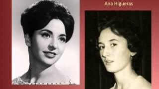 """Teresa Berganza y Ana Higueras """"Dúo de Rosela y Celito"""" Los Burladores, Sorozábal"""