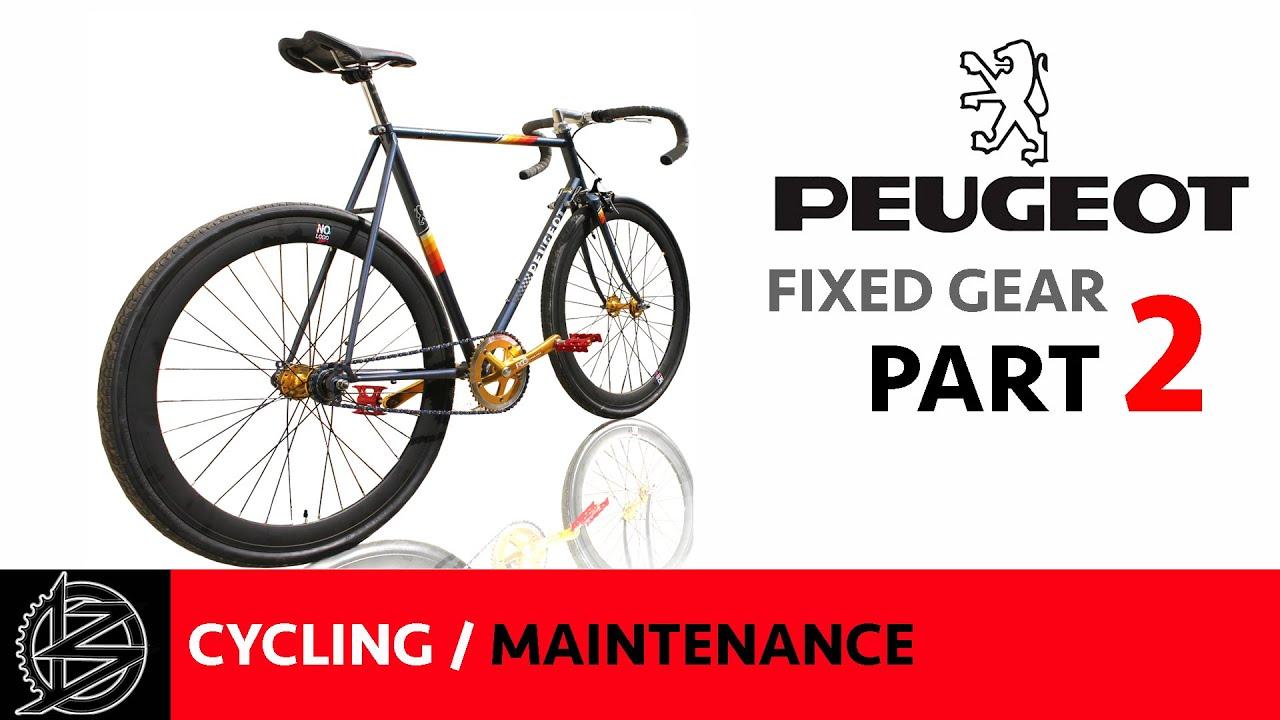bike maintenance part 2 rebuild and ride peugeot. Black Bedroom Furniture Sets. Home Design Ideas