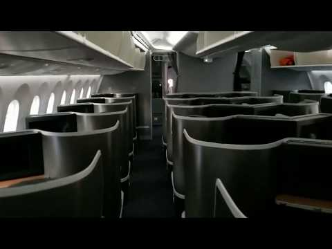 American Airlines Cabin Tour Boeing 787-9 Dreamliner With Premium Economy