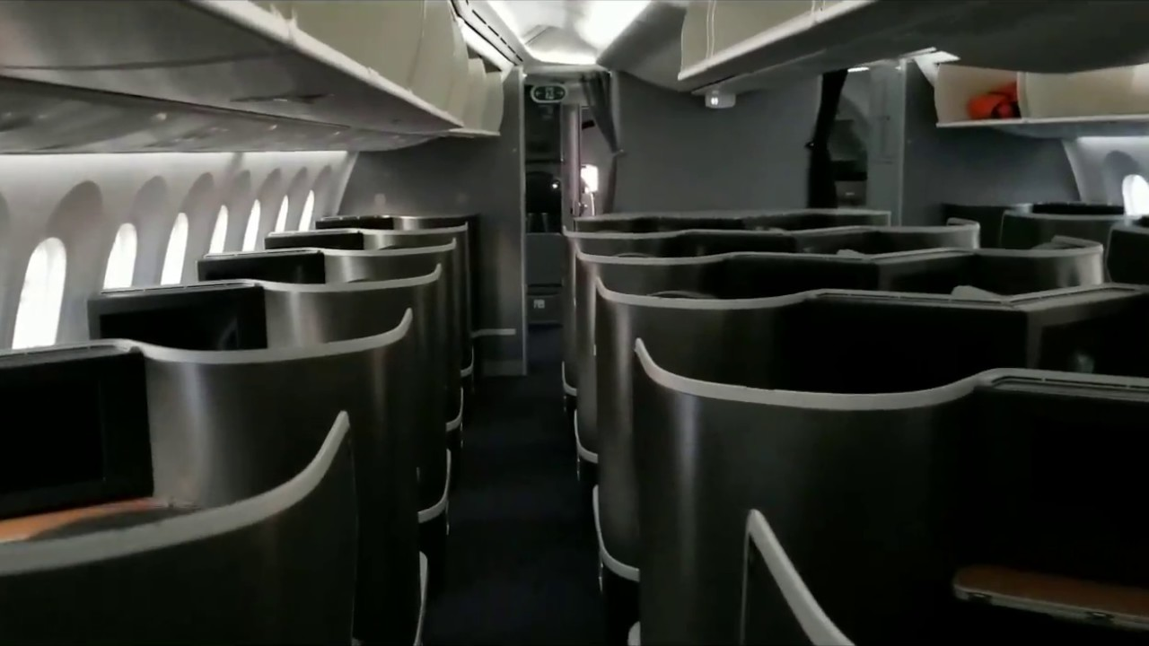 American Airlines Cabin Tour Boeing 787 9 Dreamliner With