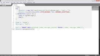 PHP Data Objects (PDO): Prepared statements (Part 6/8)