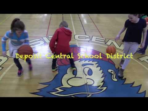 Before School Intramurals at Deposit Elementary School