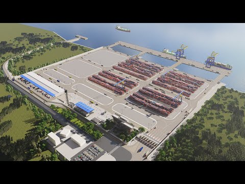 Payra Sea Port - First Terminal Project - Symbiotic Architects & Associates