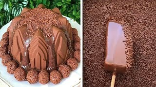Easy Chocolate Cake Decorating Tutorials | How To Make Chocolate Cake Decorating Ideas