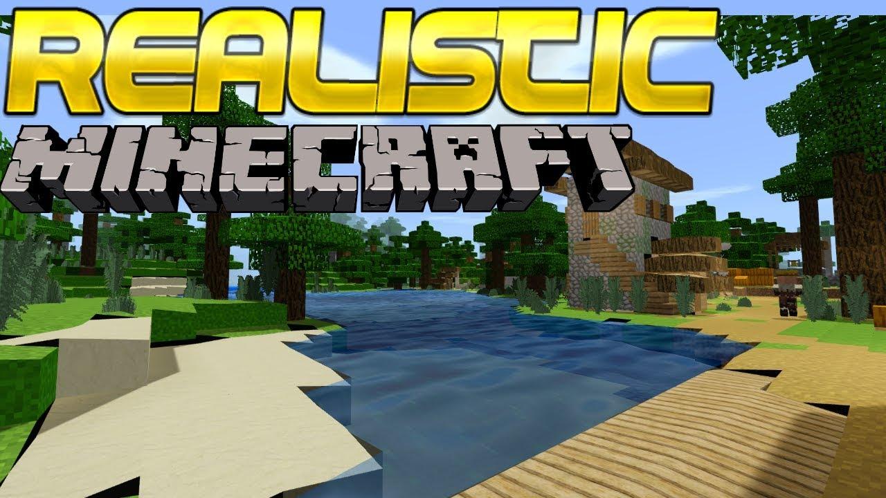 Realistic Minecraft Bedrock Edition - YouTube