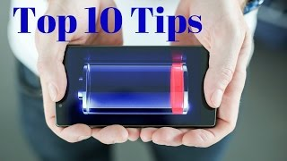 Top 10 Battery Saving Tips For Android Smartphone - Battery Saving Tips
