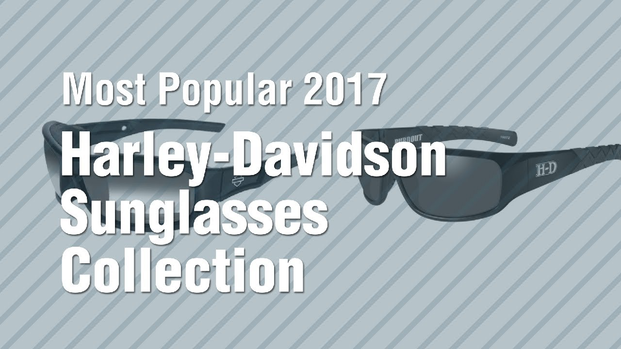 0237bc0358e Harley-Davidson Sunglasses Collection    Most Popular 2017 - YouTube
