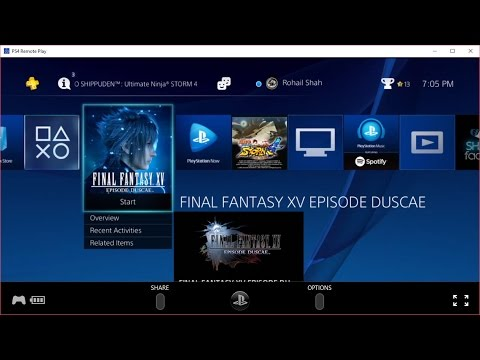 Testing PS4 Remote Play on PC