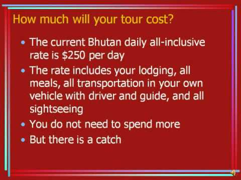 When to travel in Bhutan and how much will your tour cost
